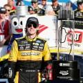 NASCAR - Charlotte - Roval 2018 - Ryan Blaney en el Victory Lane