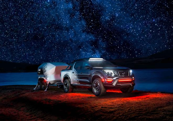 Nissan presenta el observatorio móvil: la Nissan Frontier Dark Sky Concept.