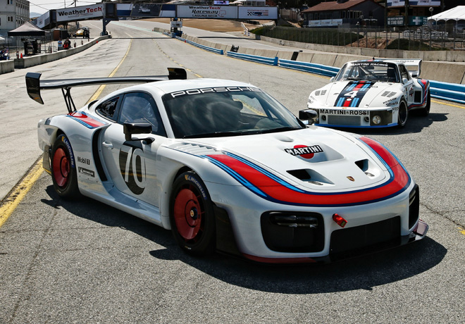 Nueva version exclusiva del Porsche 935 1