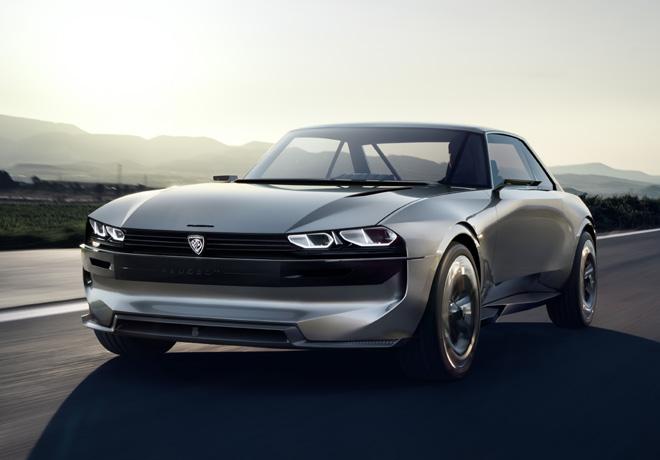 Peugeot e-Legend Concept car 2