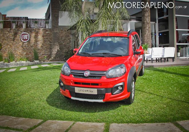 Presentacion del Nuevo Fiat Uno Way 1