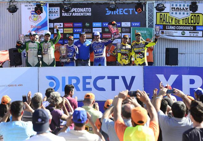 Rally Argentino en Toledo, Córdoba – Final: Victoria de Villagra que le permite volver liderar el campeonato.