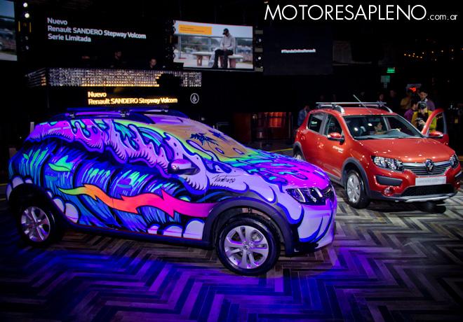 Renault lanza la serie limitada Sandero Stepway Volcom 2