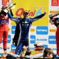 STC2000 - Callejero de Santa Fe 2018 - Carrera Diurna - Facundo Chapur - Agustin Canapino - Matias Rossi en el Podio
