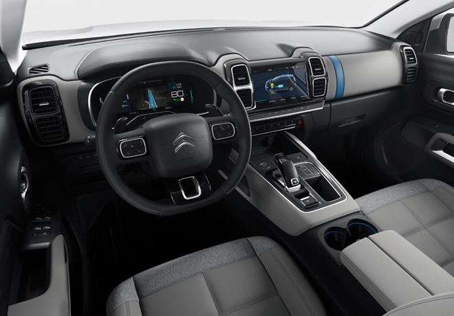 SUV Citroen C5 Aircross Hybrid Concept 2