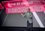 Steve St Angelo en la Presentacion del nuevo Toyota Yaris