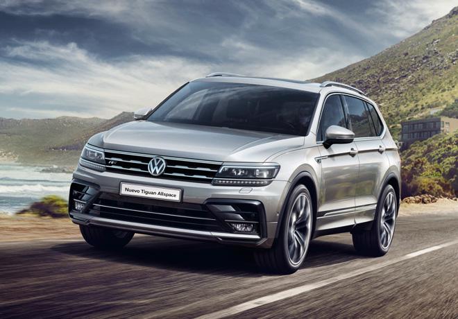Durante el mes de septiembre, Volkswagen Tiguan Allspace Trendline 7 plazas tendrá un precio especial de primavera de $1.281.162.-