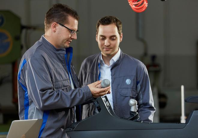 VW prueba la ultima tecnologia de impresion 3D para la producción de vehiculos