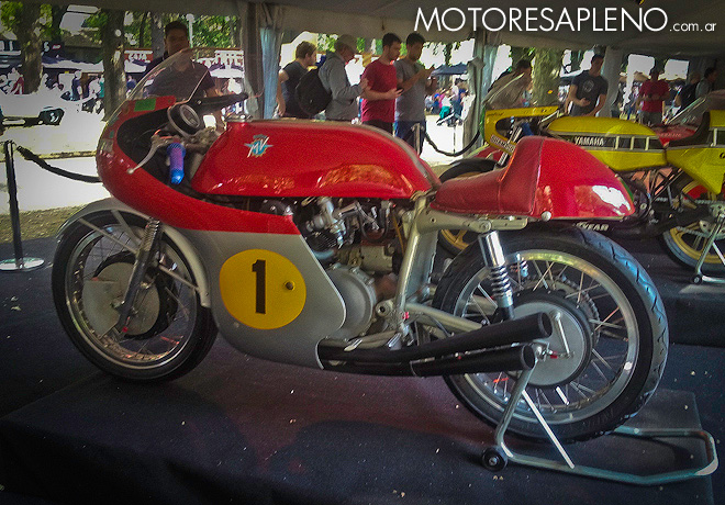 Autoclasica 2018 - Best of Show - Motos - MV Agusta 500 FOUR de 1957