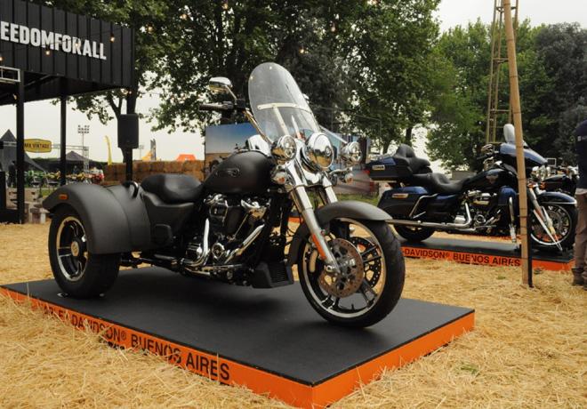 Autoclasica 2018 - Harley-Davidson Freewheeler de 3 ruedas y la Ultra Limited edicion 115 Aniversario