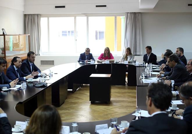 Autoridades de ADEFA repasaron la situacion del sector con el Ministro de Produccion y Trabajo Dante Sica