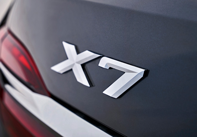 BMW presenta el primer X7, que será lanzado al mercado en marzo de 2019.