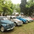 Citroe 2CV festejo sus 70 anios en Autoclasica 2018