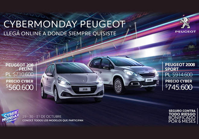 Cybermanday Peugeot