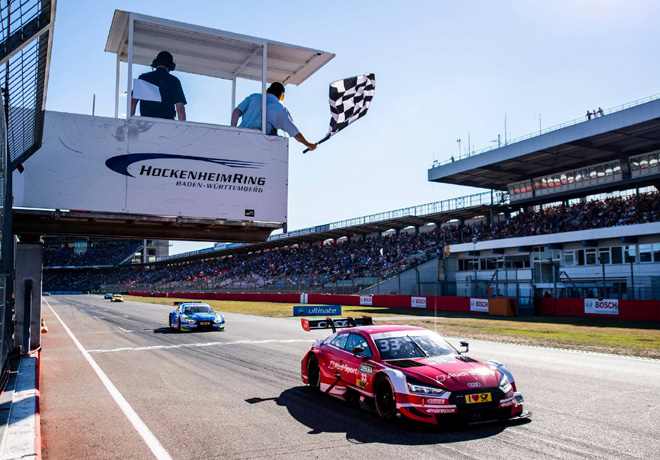 dtm en hockenheim carrera 1 gran triunfo de ren rast. Black Bedroom Furniture Sets. Home Design Ideas