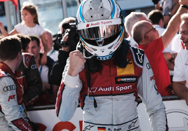DTM - Hockenheim 2018 - Carrera 2 - Rene Rast - Audi RS 5 DTM