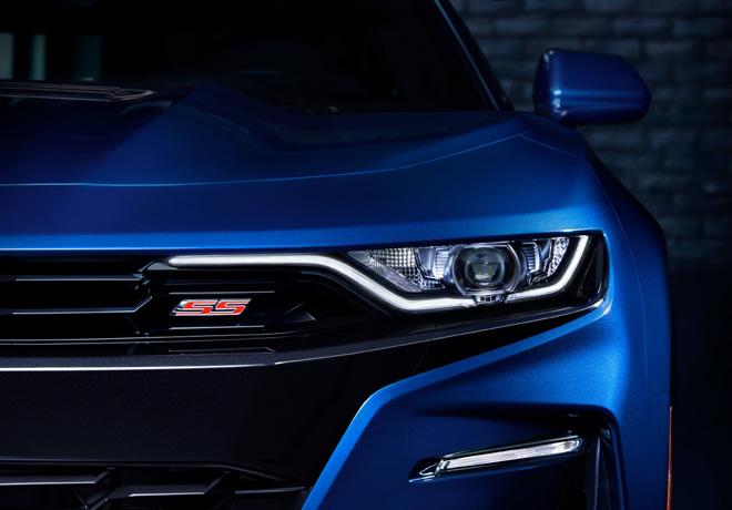El Nuevo Camaro es una de las estrellas Chevrolet en el Salon de San Pablo