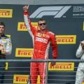 F1 - Estados Unidos 2018 - Carrera - Max Verstappen - Kimi Raikkoinen - Lewis Hamilton en el Podio