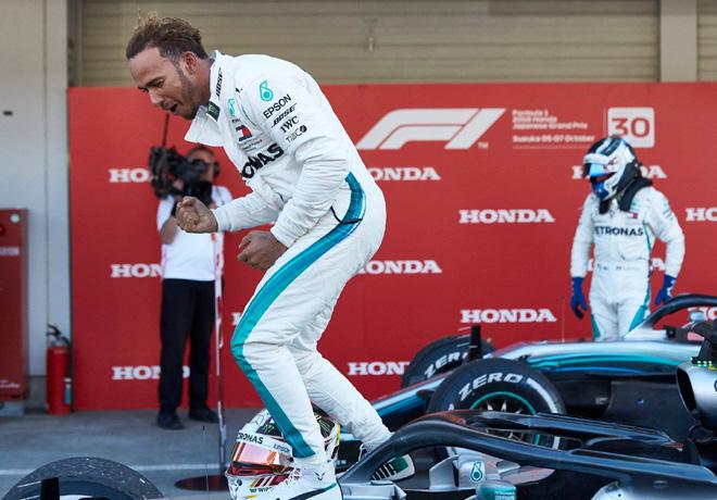 F1 - Japon 2018 - Carrera - Lewis Hamilton - Mercedes GP