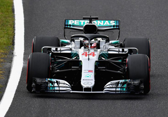F1 - Japon 2018 - Clasificacion - Lewis Hamilton - Mercedes GP