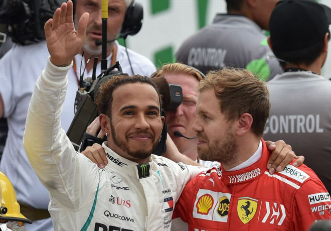 F1 - Mexico 2018 - Carrera - Lewis Hamilton Campeon