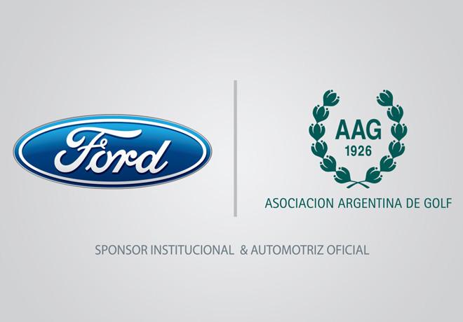 Ford - Sponsor Institucional y Automotriz Oficial de la Asociacion Argentina de Golf