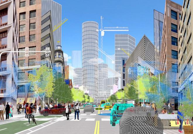 Ford - Uber - Lyft se asocian con la plataforma Shared Streets para la contribucion de datos de movilidad urbana