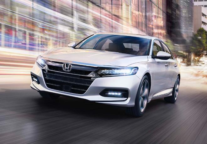 Honda presenta la décima generación del Accord.
