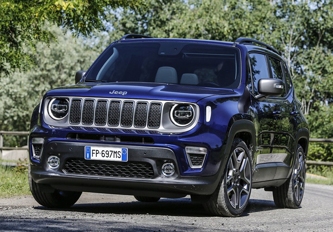 Jeep Renegade Plug-in Hybrid Electric Vehicle