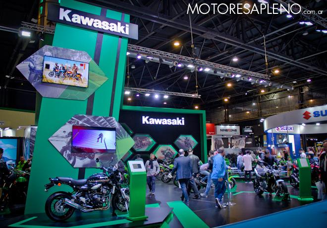 Kawasaki en el Salon Moto 2018 1