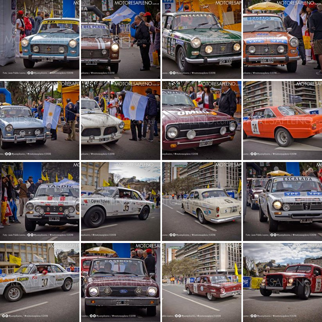 Largada del XVI Gran Premio Argentino Historico - Galeria Facebook