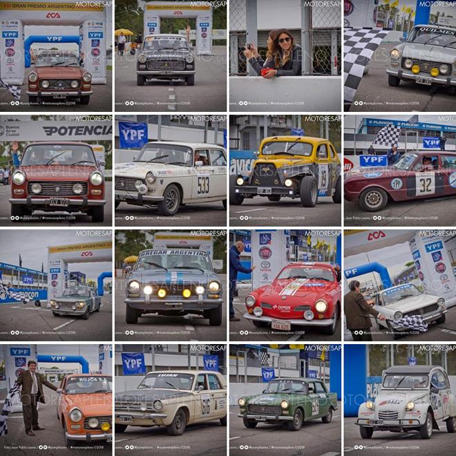 Llegada del XVI Gran Premio Argentino Historico - Galeria Facebook
