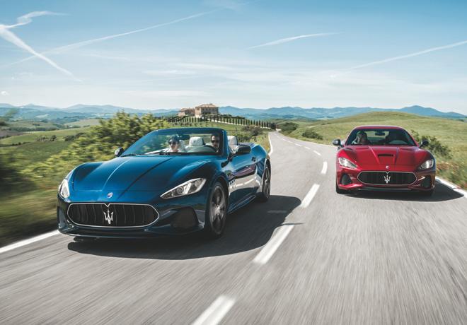 Maserati Gran Cabrio y GranTurismo