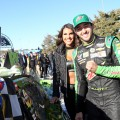 NASCAR - Kansas 2018 - Chase Elliott en el Victory Lane