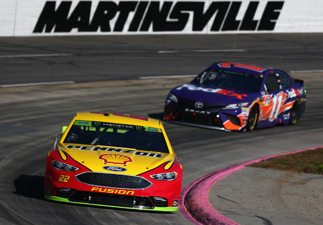 NASCAR - Martinsville 2018 - Joey Logano - Ford Fusion