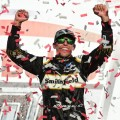 NASCAR - Talladega 2018 - Aric Almirola en el Victory Lane
