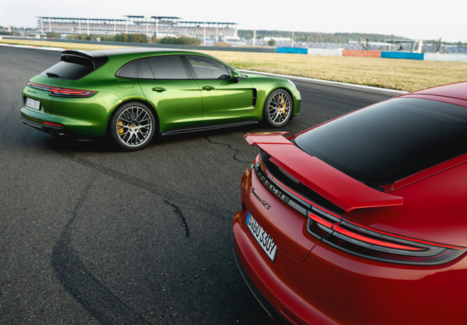 Porsche Panamera GTS Sport Turismo y GTS