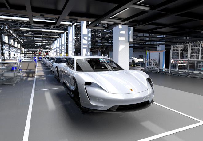 Porsche comienza la era electrica con el nuevo Taycan 2