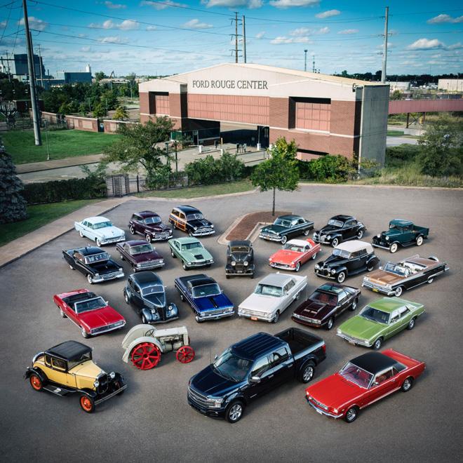 Rouge - la planta iconica de Ford de los Estados Unidos - cumple 100 anios de actividad ininterrumpida