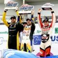 TC - Olavarria 2018 - Carrera - Facundo Ardusso - Alan Ruggiero - Mariano Werner en el Podio