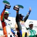 TC - Toay - La Pampa 2018 - Carrera - Jonatan Castellano - Alan Ruggiero - Agustin Canapino en el Podio