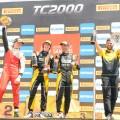 TC2000 - San Luis II 2018 - Carrera Final - Hernan Palazzo - Nicolas Dapero - Mariano Pernia en el Podio