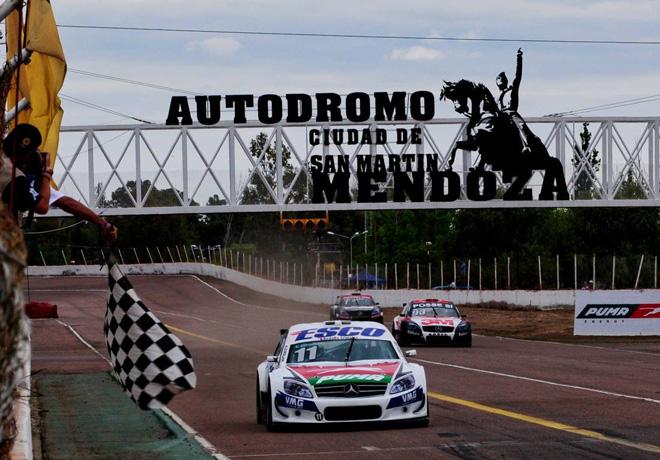 Top Race - San Martin - Mendoza 2018 - Carrera 1 - Nestor Girolami - Mercedes-Benz