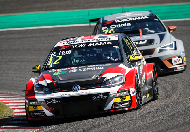 WTCR - Suzuka - Japon 2018 - Carrera 2 - Robert Huff - VW Golf GTi TCR