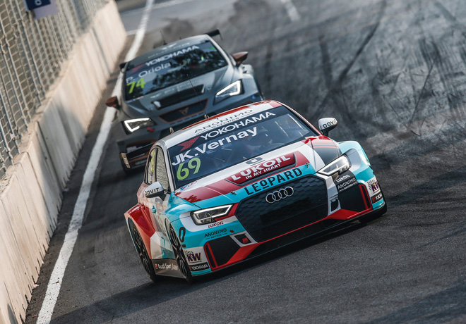 WTCR - Wuhan - China 2018 - Carrera 1 - Jean-Karl Vernay - Audi RS3 LMS