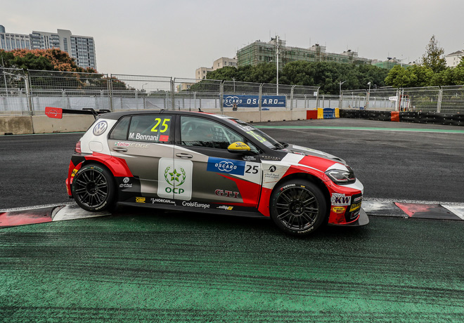 WTCR - Wuhan - China 2018 - Carrera 2 - Mehdi Bennani - VW Golf GTi TCR
