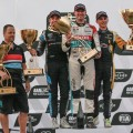 WTCR - Wuhan - China 2018 - Carrera 3 - Frederic Vervisch - Gordon Shedden - Denis Dupont en el Podio