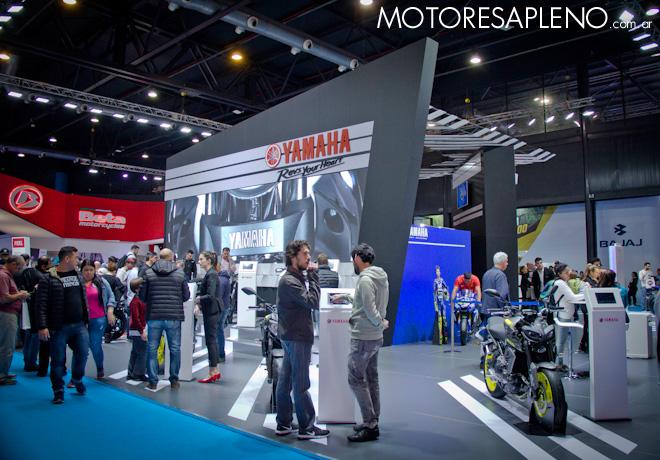 Yamaha exhibe un diverso line up de productos en el Salon Moto 2018 1