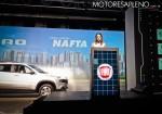 Andrea Fumuso - Brand Manager de Fiat Argentina en la Presentacion de la Fiat Toro Nafta