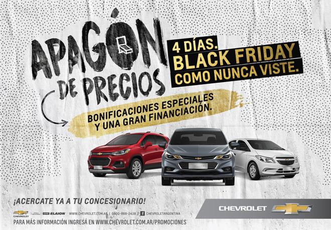 Apagon de Precios Chevrolet